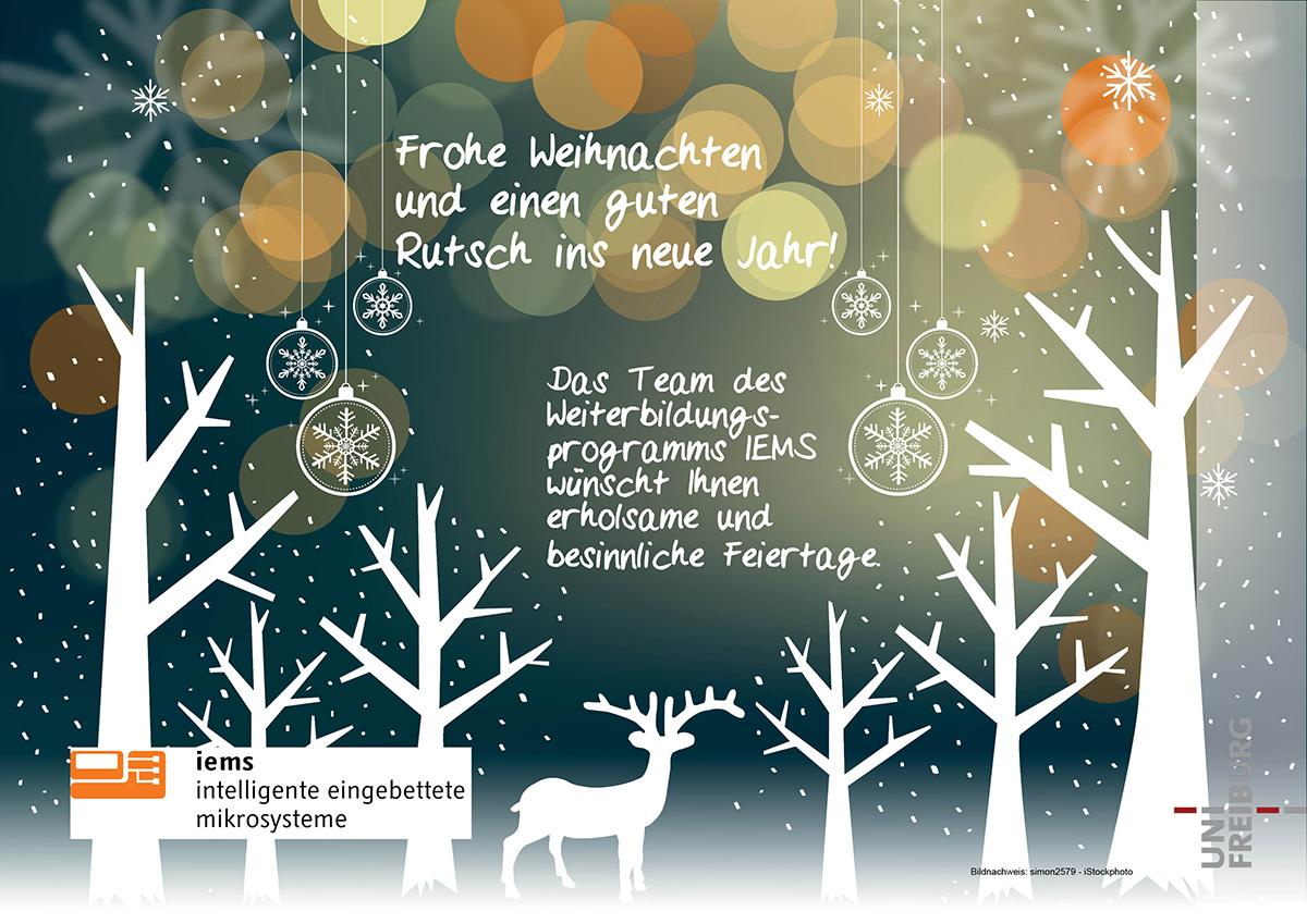 Weihnachtsgruß Frohes Fest
