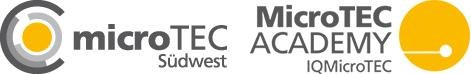 Logos MicroTEC Südwest und MicroTEC Academy IQ MicroTEC